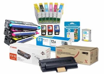 Картриджи для струйных и лазерных принтеров, большой выбор