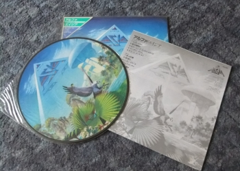 Asia Alpha album 1983 picture disc Japan