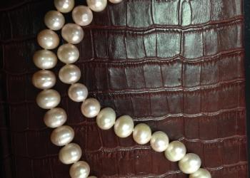 Продам эффектное жемчужное ожерелье