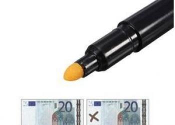 Маркер для определения подлинности денег