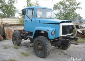 Продам а/м на базе ГАЗ-66 с кабиной от ГАЗ-3309 САМОДЕЛКА ,т.к. обрезана рама на