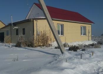 Дом новый, в экологически чистом, рядом озеро в стабильно развивающемся поселке.