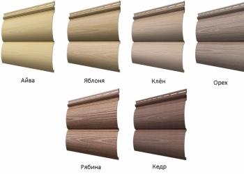 Сайдинг, фасадные панели для дома и дачи