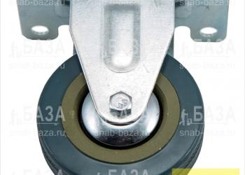 Опора неподвижная FCF75, d75, серая литая резина