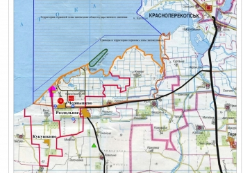 Продажа 10 га земель в Крыму под освоение рядом с Лебяжьими островами. Вторичка