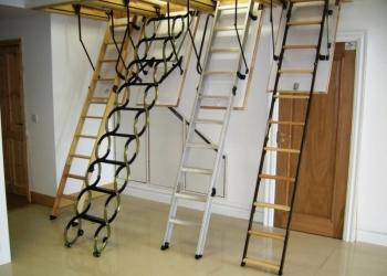 Лестницы на чердак в ассортименте