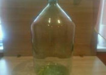 Куплю стеклянный бутыль