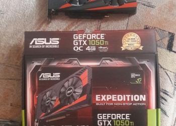 Видеокарта GEFORCE GTX 1050Ti 4GB