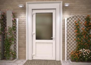 Отказная алюминиевая дверь