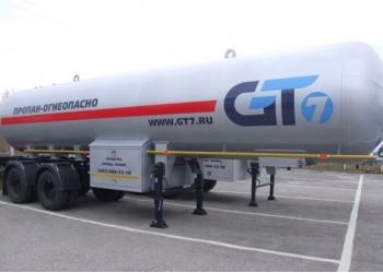 полуприцеп газовоз GT7 - 20 куб.