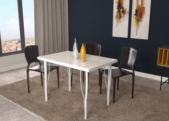 Стол обеденный-искусственный камень