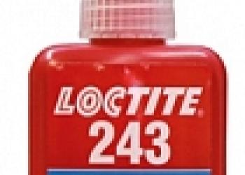 Loctite 243 Анаэробный фиксатор резьбы фланцевого крепежа сред.прочности 50мл