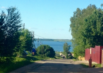 Шикарный участок с видом на озеро.