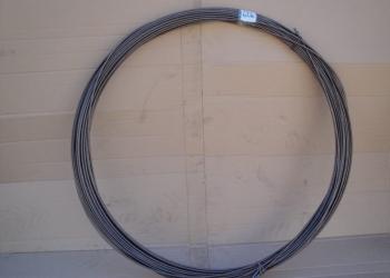 Сантехническая проволока 5мм для прочистки засоров труб и канализации.т796038142
