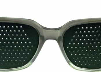 2042355  очки Федорова (тренажеры с таблицей Сивцева)оптом