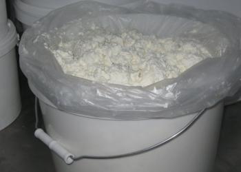 Творожный и сметанный продукт от производителя в ведрах 3,5,10,кг