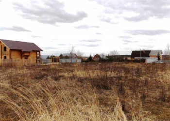 Участок 25 соток в д. Васькино, Чеховского района