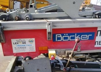 Грузовой немецкий подъемник на базе прицепа Bocker