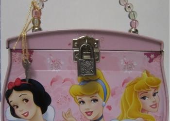 Жестяная детская сумочка на тему Disney