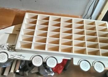 Полка-грузовик - для моделек и игрушек 1,5 метра