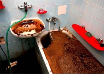 Прочистка засоров канализации,устранение засоров