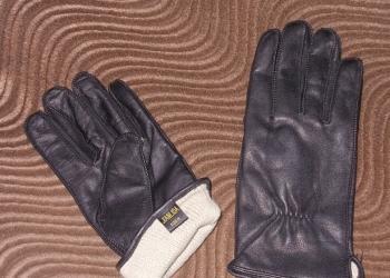Перчатки мужские чёрные