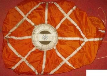 Вытяжной парашют пт-21 ук 1974 СССР авиация