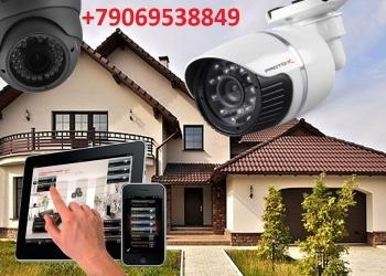 Охранная, пожарная  сигнализация., безопасность и видеонаблюдения под ключ
