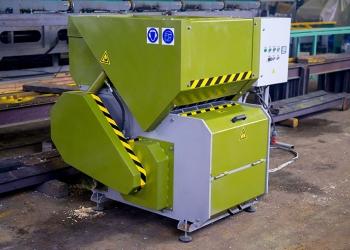 Шредер для дерева PROFIT-650, измельчитель древесины, переработка отходов
