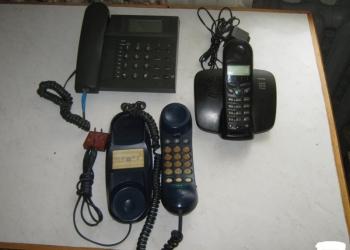 4 рабочих телефона или обменяю  на 2  карт кнопочный телефон
