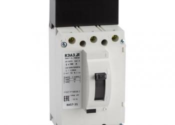 Автоматические выключатели ВА 57-31 по выгодной цене