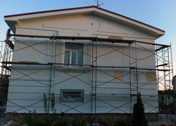 Ремонт фасада дома в Пензе фасадные работы под ключ