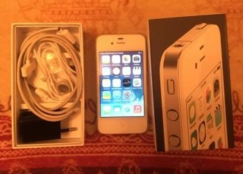 iPhone 4 (white, 8 gb)