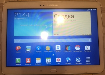 Samsung Galaxy Tab3 (White) - 16 gb