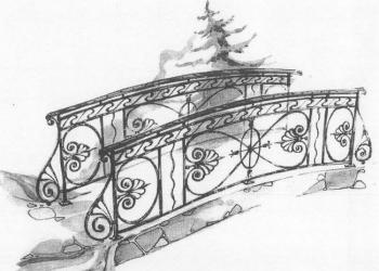 Декоративные мостики для садового ландшафта.