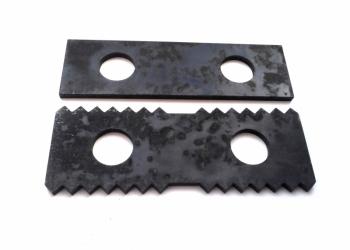 Молотки (ножи, бичи) дробилки ДКР, ДПМ, ДВР, ДРП (158х48х5) ст. 65Г