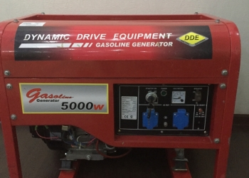 Генератор бензиновый DDE 5000