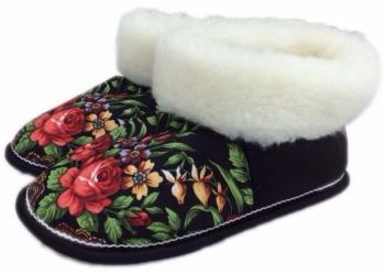 Обувь ручной выделки (овчина)