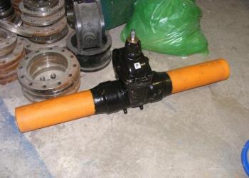 Задвижка AVK для газа с ПЭ патрубками с полиуритановым покрытием.Серия: 36/90 Д
