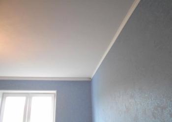 Выровняю потолок и побелю из краскопульта