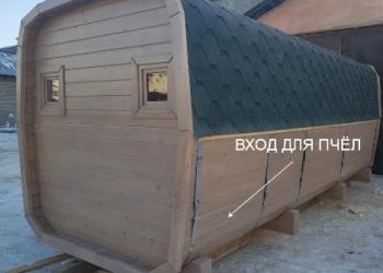 АПИ-БАНЯ (пчелиная баня) из кедра
