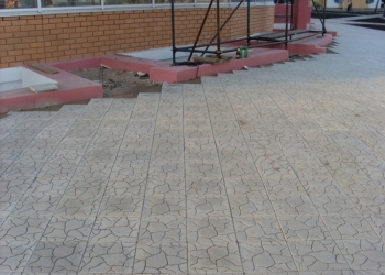 Производство бетонных изделий Тротуарная плитка Брусчатка