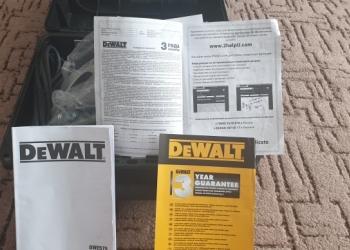 Ручная циркулярка DeWALT.  DWE576-QS