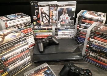 Sony PS3 с 50 играми и бесплатной доставкой