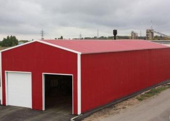 Ангар, павильоны, магазин, склад, пристройка из ЛМК, быстровозводимые здания