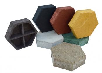 Тротуарная плитка полимерпесчаная