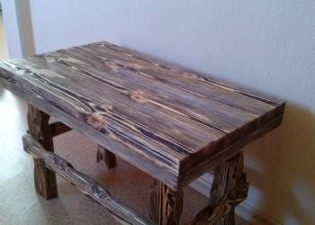 журнальный стол под старину