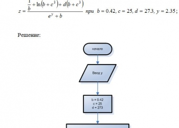 Контрольные работы по программированию и информатике