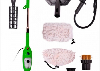 Паровая швабра Моп X5 + подарок Щетка для удаления пыли