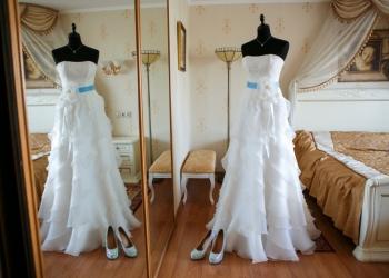 Европейское свадебное платье для высокой девушки